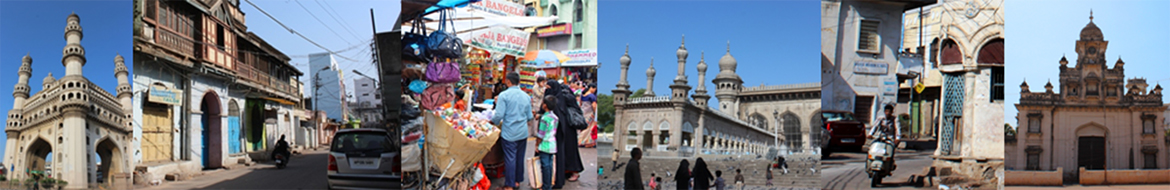 The Charminar Precinct walk